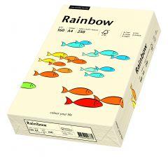 Carton copiator A4, 160g, colorat in masa crem, Rainbow 03