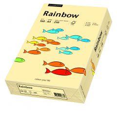 Carton copiator A4, 160g, colorat in masa chamois, Rainbow 06