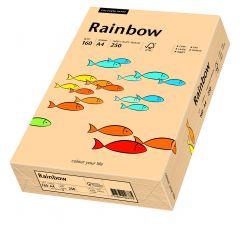 Carton copiator A4, 160g, colorat in masa somon, Rainbow 40