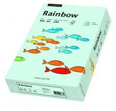 Carton copiator A4, 160g, colorat in masa albastru deschis, Rainbow 82
