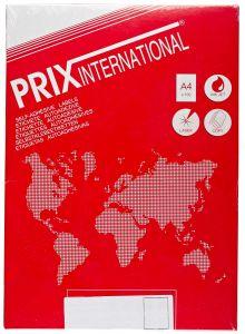 Etichete autoadezive albe 4/A4, 95x115mm, colt rotunjit, 100coli/cutie, Prix
