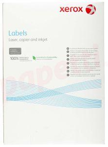 Etichete autoadezive albe 65/A4, 38,1x21,2mm, colt rotunjit, 100 coli/cutie, Xerox 3R93177