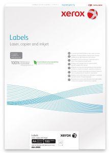 Etichete autoadezive albe 40/A4, 52,5x29,7mm, 100coli/cutie, Xerox 464L20000
