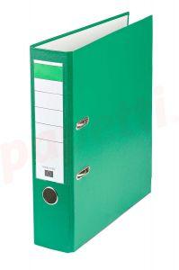 Biblioraft plastifiat 7,5cm, verde, Benson