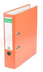 Biblioraft plastifiat 7,5cm, portocaliu, Benson