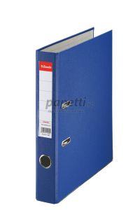 Biblioraft plastifiat 5cm, albastru, Economy Esselte