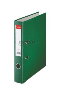 Biblioraft plastifiat 5cm, verde, Economy Esselte