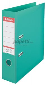 Biblioraft plastifiat exterior/interior 7,5cm, menta, Nr.1 Power Esselte