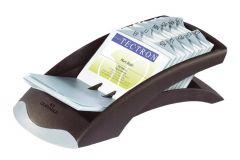 Clasor pentru carti vizita liniar negru, Visifix Desk 241301 Durable