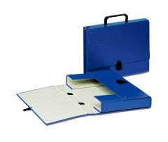 Servieta carton albastru inchis Glamour Esselte