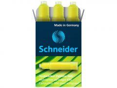Rezerva textmarker galben, Maxx Eco 666 Schneider