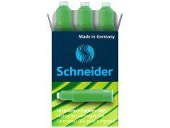 Rezerva textmarker verde, Maxx Eco 666 Schneider