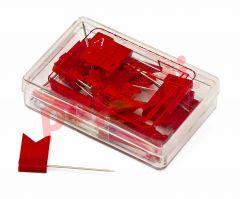 Stegulete colorate rosu, Alco