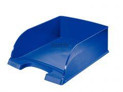 Tavita suprapozabila, albastru, Plus Jumbo Leitz