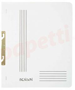 Dosar de incopciat 1/1, carton alb, Benson Lux