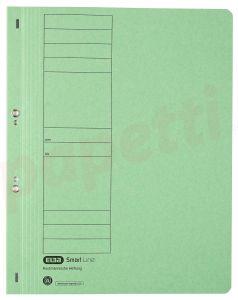 Dosar de incopciat cu capse 1/1, carton verde, Elba