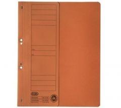 Dosar de incopciat cu capse 1/2, carton portocaliu, Elba