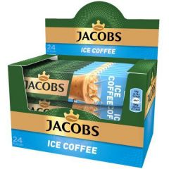Cafea Jacobs 3 in 1 Ice Coffee, 24 bucati x18g