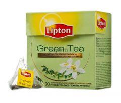 Ceai verde, 20plicuri/cutie, Lipton Pyramid