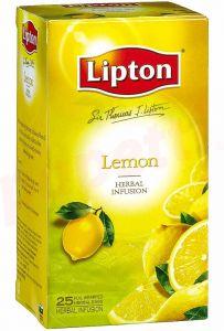 Ceai negru cu aroma de lamaie, 25plicuri/cutie, Lipton