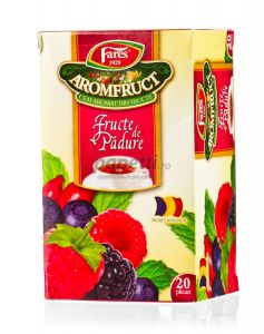 Ceai Fares fructe de padure, 20plicuri/cutie