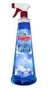 Detergent cu pulverizator ptr. geamuri, oglinzi, 750ml, Clasic Expertto