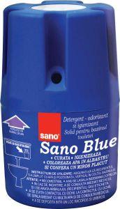 Odorizant solid pentru bazinul toaletei, 150g, Blue Sano