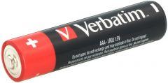 Baterie alcalina, cilindrica, R3, AAA, 49874 Verbatim