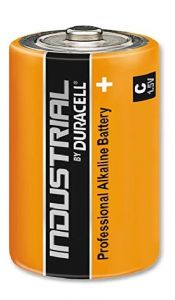 Baterie alcalina, cilindrica, R14, C, Industrial Duracell