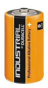 Baterie alcalina, cilindrica, R20, D, Industrial Duracell