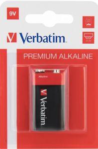 Baterie alcalina R61, 9V, dreptunghiulara, 49924 Verbatim