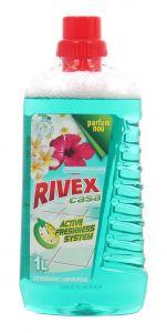 Detergent pentru orice tip de pardoseli, 1L, Casa Flori smarald Rivex
