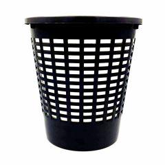 Cos plastic pentru gunoi, negru, NNB