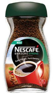 Cafea solubila NESCAFE Brasero Strong 100g