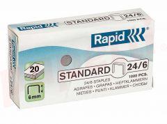 Capse nr.24/6 Rapid Standard