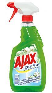 Detergent cu pulverizator ptr. geamuri, oglinzi, 500ml, Green Floral Fiesta Ajax