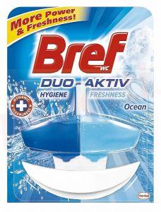 Odorizant gel cu suport pentru toaleta, Ocean Fresh, 50ml, WC Gel Duo-Aktiv Bref
