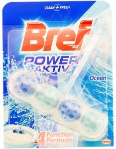 Odorizant solid cu suport pentru toaleta, 50g, Power Aktiv Ocean Bref