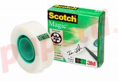 Banda adeziva invizibila cu dispenser, 19mm x 33m, Scotch Magic 3M