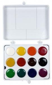 Acuarele pe baza de ulei, 12 culori, Colibri