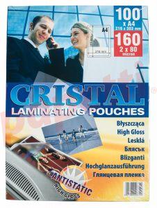 Folie de laminator, A4, 80 microni, Cristal