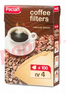 Hartie filtru cafea, nr.4, 100buc/cutie, Global