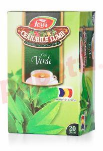 Ceai Fares verde, 20plicuri/cutie