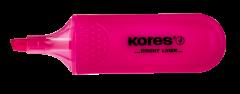 Textmarker roz, Kores