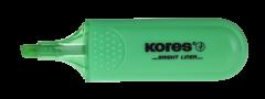 Textmarker verde, Kores