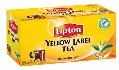 Ceai negru, 25plicuri/cutie, Lipton Yellow Label
