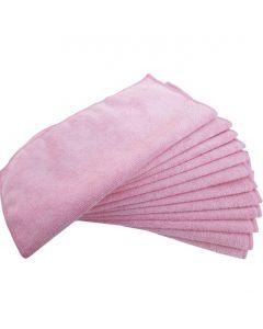 Laveta microfibra pt. uz general, 30x30cm, roz, Global