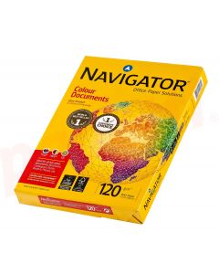 Carton copiator A4, 120g, alb, Navigator Colour Documents
