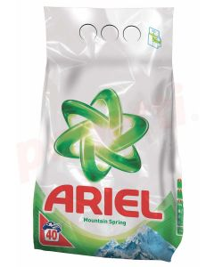 Detergent pudra pentru tesaturi, automat, 6kg, Mountain Spring Ariel