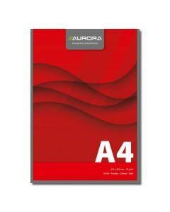 Blocnotes lipit A4, 50file, velin Aurora Office